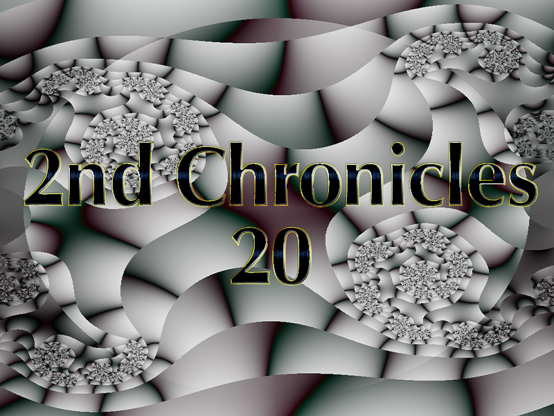 2nd Chronicles 20